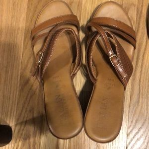 Camel colored Sandal from Dressbarn